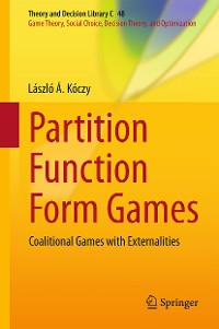 Cover Partition Function Form Games