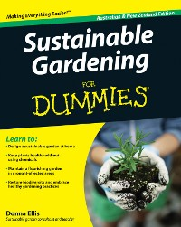 Cover Sustainable Gardening For Dummies, Australian and New Zeal