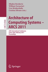 Cover Architecture of Computing Systems - ARCS 2011