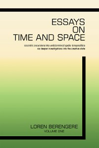 Cover Essays on Time and Space