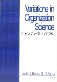 Cover Variations in Organization Science