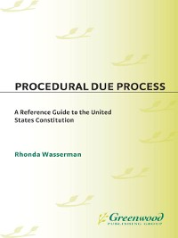 Cover Procedural Due Process