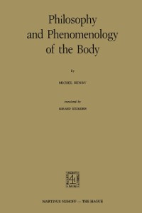 Cover Philosophy and Phenomenology of the Body
