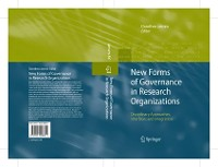 Cover New Forms of Governance in Research Organizations
