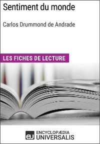 Cover Sentiment du monde de Carlos Drummond d'Andrade