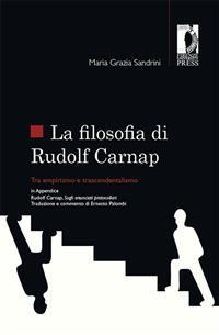 Cover La filosofia di Rudolf Carnap tra empirismo e trascendentalismo
