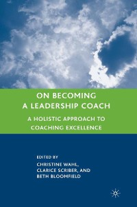Cover On Becoming a Leadership Coach