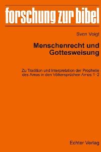 Cover Menschenrecht und Gottesweisung