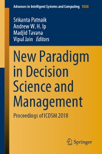 Cover New Paradigm in Decision Science and Management