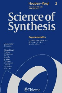 Cover Science of Synthesis: Houben-Weyl Methods of Molecular Transformations  Vol. 2