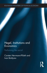 Cover Hegel, Institutions and Economics