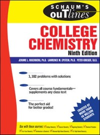 Cover Schaum's Outline of College Chemistry, 9ed