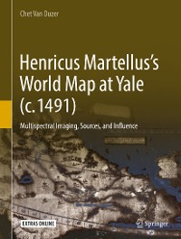 Cover Henricus Martellus's World Map at Yale (c. 1491)
