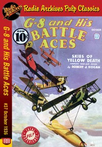 Cover G-8 and His Battle Aces #37 October 1936