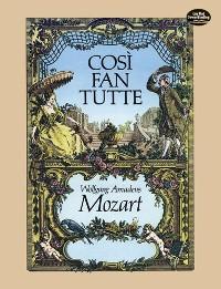 Cover Cosi fan Tutte in Full Score