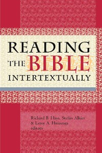 Cover Reading the Bible Intertextually