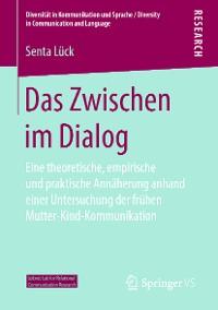 Cover Das Zwischen im Dialog