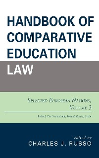 Cover Handbook of Comparative Education Law