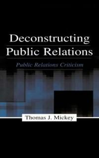 Cover Deconstructing Public Relations