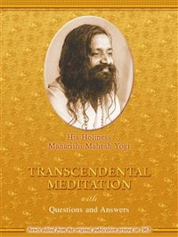 Cover Transcendental Meditation with Questions and Answers