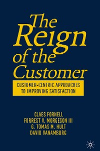 Cover The Reign of the Customer