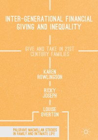Cover Inter-generational Financial Giving and Inequality