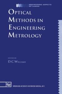 Cover Optical Methods in Engineering Metrology