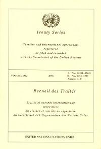 Cover Treaty Series 2363/Recueil des Traités 2363