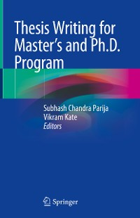 Cover Thesis Writing for Master's and Ph.D. Program