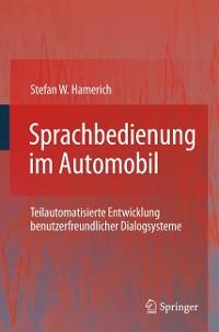 Cover Sprachbedienung im Automobil