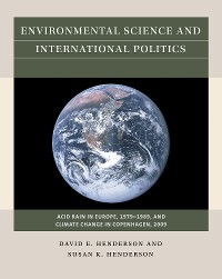 Cover Environmental Science and International Politics