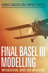 Cover Final Basel III Modelling