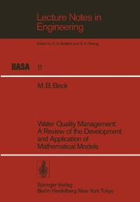Cover Water Quality Management