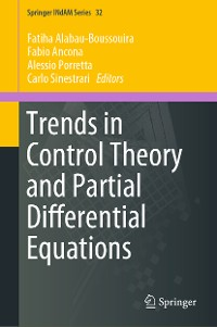 Cover Trends in Control Theory and Partial Differential Equations