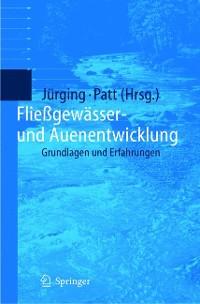 Cover Fließgewässer- und Auenentwicklung