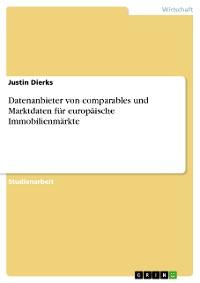 Cover Datenanbieter von comparables und Marktdaten für europäische Immobilienmärkte