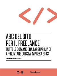 Cover ABC del sito per il freelance