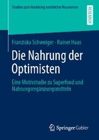 Cover Die Nahrung der Optimisten