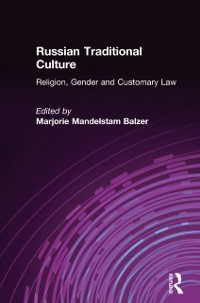 Cover Russian Traditional Culture: Religion, Gender and Customary Law