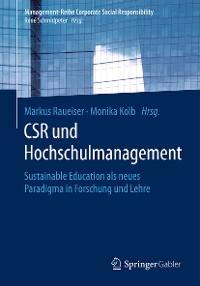 Cover CSR und Hochschulmanagement