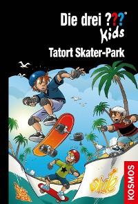 Cover Die drei ??? Kids, 84, Tatort Skater-Park (drei Fragezeichen Kids)