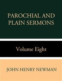 Cover Parochial and Plain Sermons Volume Two