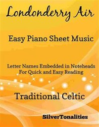 Cover Londonderry Air Easy Piano Sheet Music