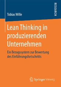 Cover Lean Thinking in produzierenden Unternehmen