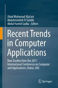 Cover Recent Trends in Computer Applications