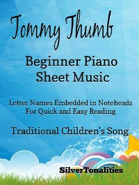 Cover Tommy Thumb Beginner Piano Sheet Music