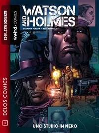 Cover Watson & Holmes Uno studio in nero