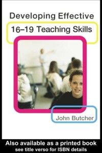 Cover Developing Effective 16-19 Teaching Skills