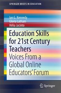 Cover Education Skills for 21st Century Teachers