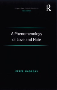 Cover Phenomenology of Love and Hate